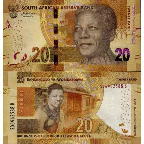 Billet de banque collection Afrique Du Sud - PK N° 999 - 20 Rand