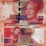 Banknote Sammlung Südafrika - PK Nr. 999 - 50 Rand