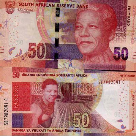 Billet de banque collection Afrique Du Sud - PK N° 999 - 50 Rand
