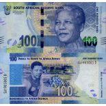 Banknote Sammlung Südafrika - PK Nr. 999 - 100 Rand
