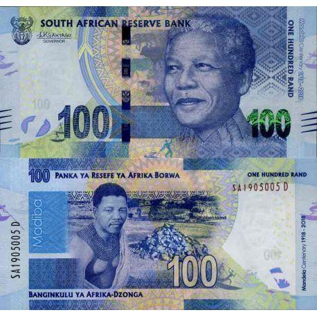 Billet de banque collection Afrique Du Sud - PK N° 999 - 100 Rand