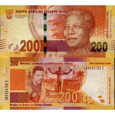 Billet de banque collection Afrique Du Sud - PK N° 999 - 200 Rand