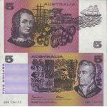 Banknote Sammlung Australien - PK Nr. 44 - 5 Dollar