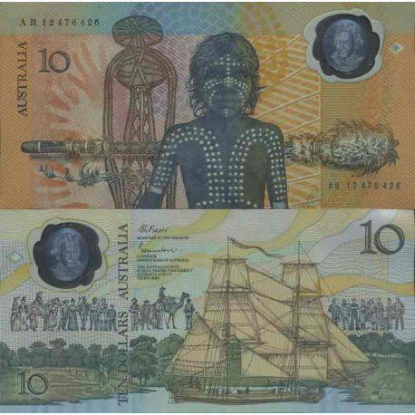 Billet de banque collection Australie - PK N° 49 - 10 Dollars