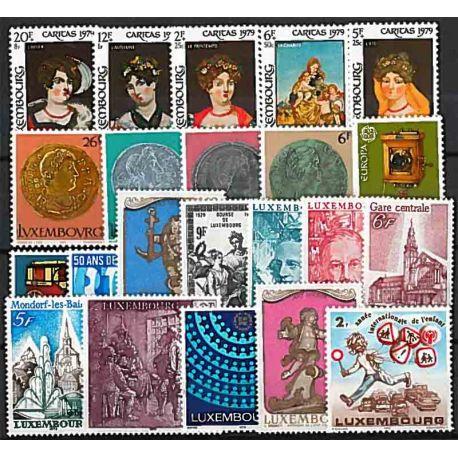 Luxembourg Année 1979 Complète timbres neufs