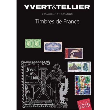 Catálogo Francia Yvert y Tellier 2016