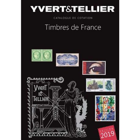 Catalogue France Yvert et Tellier 2019