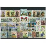 Sammlung gestempelter Briefmarken Angola