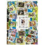 Sammlung neuer Briefmarken Anguilla