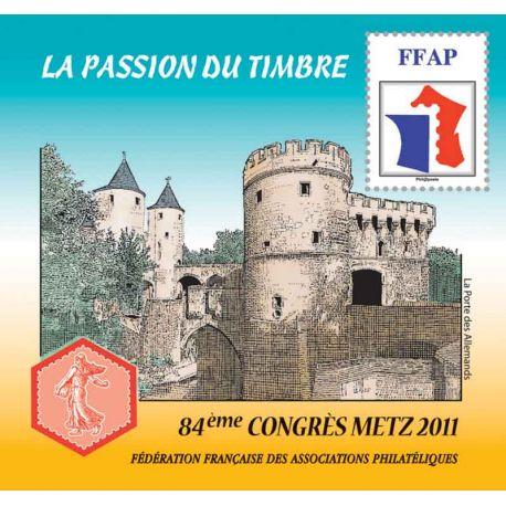 Bloque FFAP N° Yvert y Tellier 5 - nuevo sin bisagra