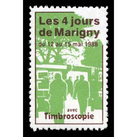 Blocco Carré Marigny N° Yvert e Tellier 1 - nuovo senza cerniera