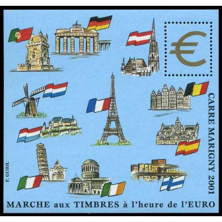 Bloc Carré Marigny N° Yvert et Tellier 13 - neuf sans charnière