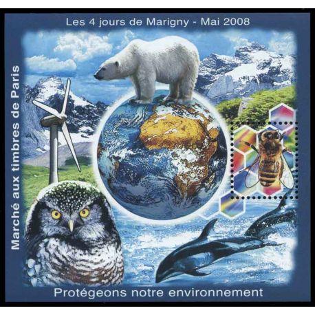 Bloc Carré Marigny N° Yvert et Tellier 20 - neuf sans charnière