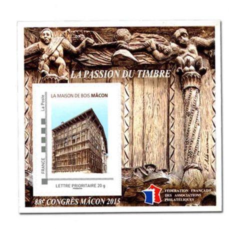 Bloque FFAP N° Yvert y Tellier 10 - nuevo sin bisagra