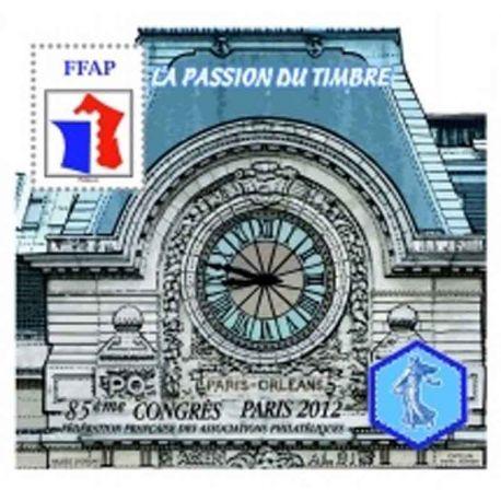 Bloque FFAP N° Yvert y Tellier 6 - nuevo sin bisagra
