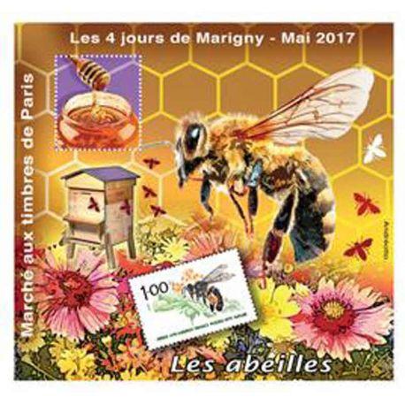 Bloque Cuadrado Marigny N° Yvert y Tellier 29 - nuevo sin bisagra