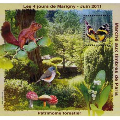Blocco Carré Marigny N° Yvert e Tellier 23 - nuovo senza cerniera