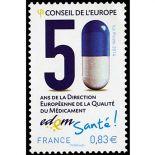 Timbres de service France N° Yvert & Tellier 159/160 Neuf sans charnière