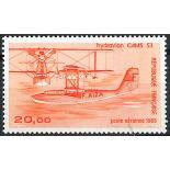 Francobollo posta aerea France N° 58b nove senza cerniera
