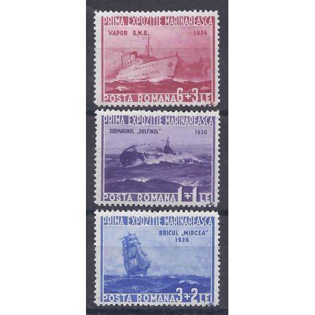 Roumanie N° 508 à 510 neuf avec charnière