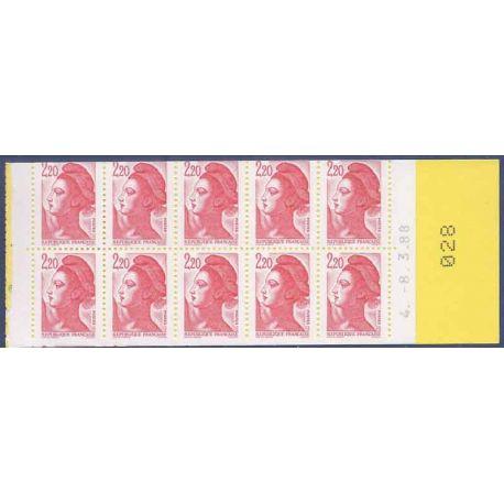 Variété - Carnet 2427-C2 Découpe en biais