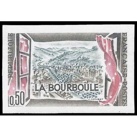 France N° 1256a non dentelé neuf sans charnière