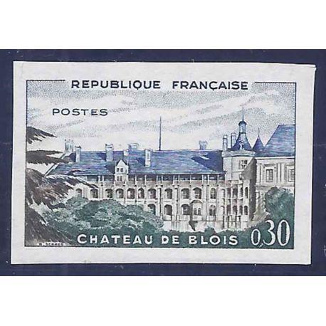 France N° 1255a non dentelé neuf sans charnière