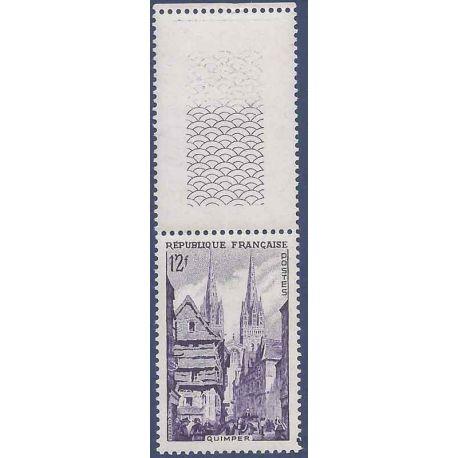 Variété - N° 979a Violet neuf sans charnière