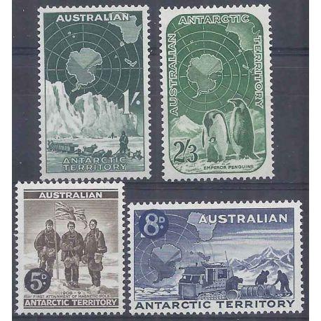 Antarctique Australien N° 2 à 5 neuf sans charnière