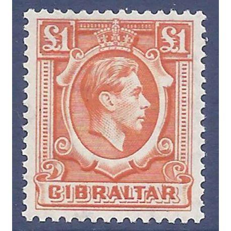 Gibraltar N° Yvert et Tellier 116 neuf sans charnière