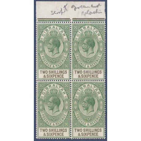 Gibraltar N° Yvert et Tellier 84 neuf sans charnière