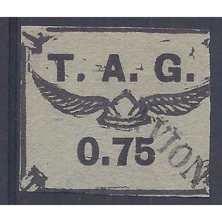 Guyane Poste aérienne N° 4 oblitéré