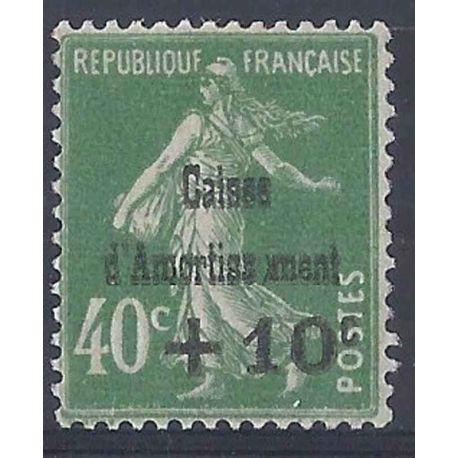 Variété - France N° 253a neuf sans charnière