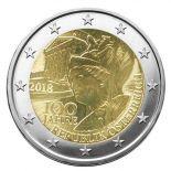 Austria 2018 - moneta 2 euro commemorativa repubblica
