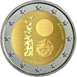 Estonia 2018 - Commemorative coin 2 Euro 100 years republic
