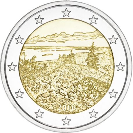 Finlandia 2018 - Moneda 2 Euro conmemorativa Koli