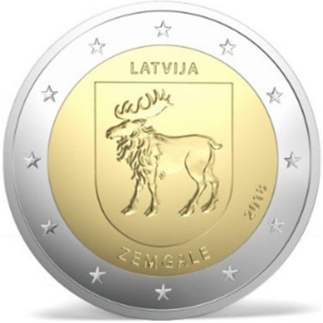 Lettland 2018 - GedächtnisMünze 2 Euro Zemgale