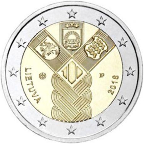 Litauen 2018 - Euro-GedächtnisMünze 2 100 Jahre Unabhängigkeit