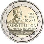 Lussemburgo 2018 - moneta 2 euro commemorativa costituzione