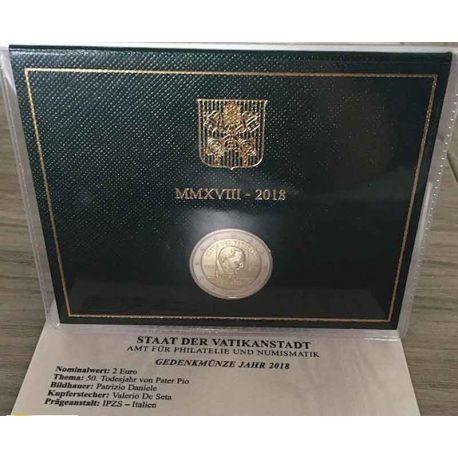 Vaticano 2018 - 2 euro Padre Pio