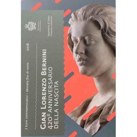 Saint-Marin 2018 - Pièce 2 Euro commémorative Gian Lorenzo Bernini