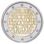 Portogallo 2018 - moneta 2 euro commemorativa stampa nazionale