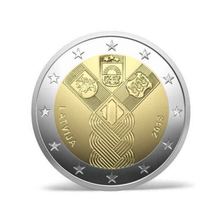 Latvia 2018 - Commemorative coin 2 Euro 100 years independence