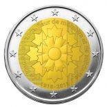 Francia 2018 - moneta 2 euro commemorativa fiordaliso