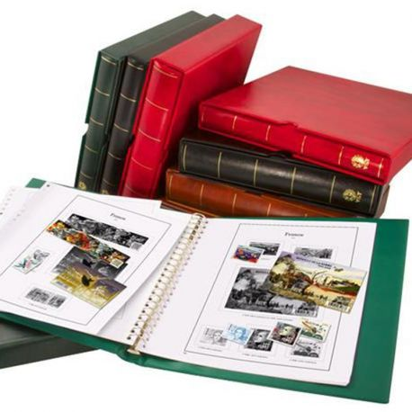 Matériel philatélique de marque Yvert et Tellier Supra et Supra Max Album pour timbres poste de la Gamme Yvert et Tellier 53,...