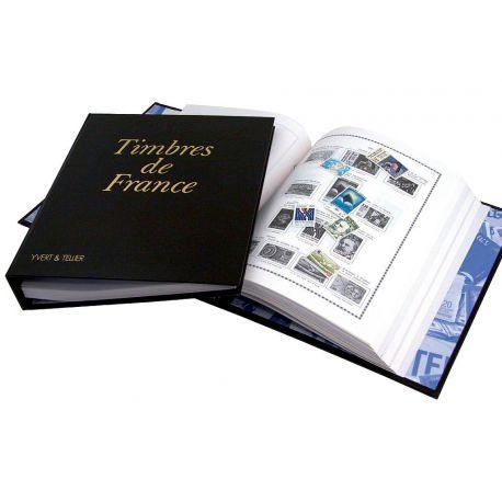 L'album Yvert et Tellier Futura FS pour les timbres de France