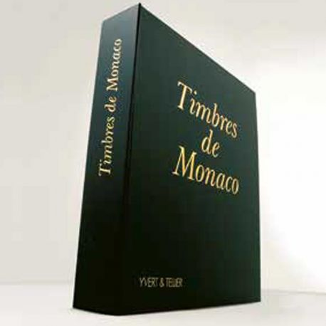 L'album Yvert et Tellier Futura MS pour les timbres de Monaco