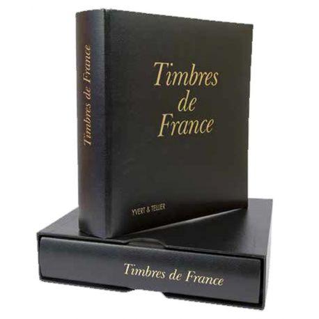 L'album Yvert et Tellier Futura France + étui pour les timbres de France