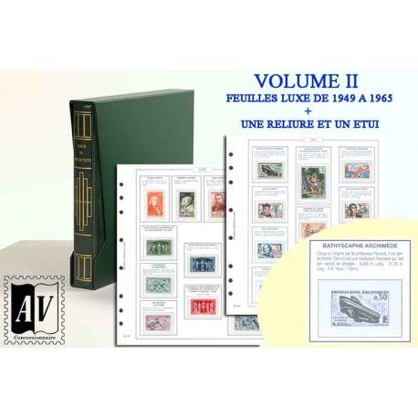 1949-1965 Album encyclopédique des timbres de France Luxe