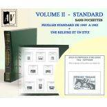 1949-1965 Album encyclopédique des timbres de France Standard